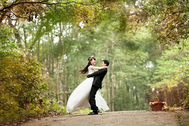 Choosing a Location for Wedding Photos